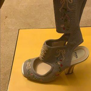 Fendi sock boots